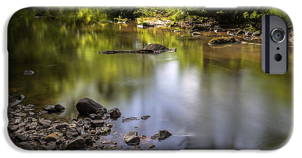 IPhone 6 Case featuring the photograph The Devon River by Jeremy Lavender Photography