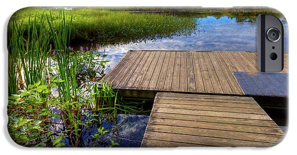 The Dock At Mountainman IPhone 6 Case by David Patterson