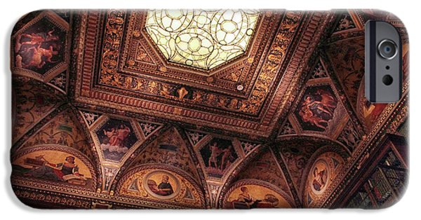 IPhone 6 Case featuring the photograph The East Room Ceiling by Jessica Jenney