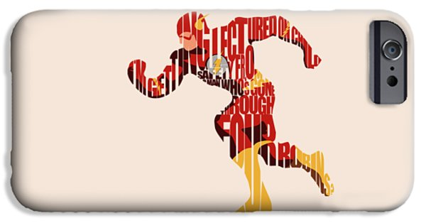 Superheroes iPhone 6 Case - The Flash by Inspirowl Design