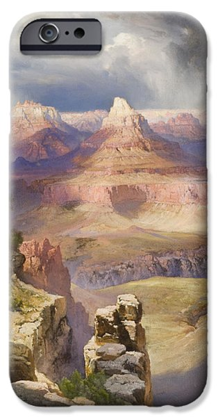 Best Sellers -  - Grand Canyon iPhone Cases - The Grand Canyon iPhone Case by Thomas Moran