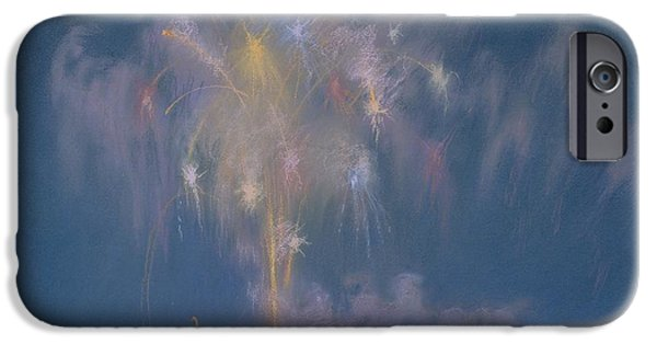 Pastel iPhone Cases - The Grand Finale iPhone Case by Lendall Pitts