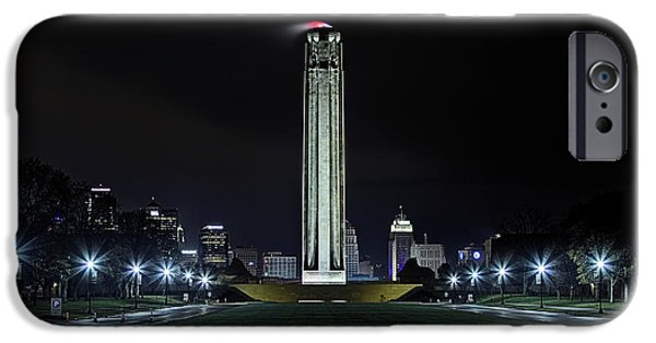 IPhone 6 Case featuring the photograph The Kansas City Liberty Memorial by JC Findley