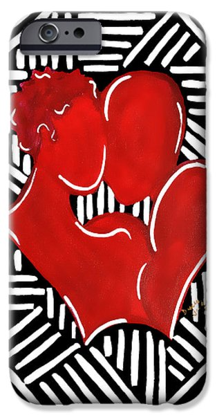 The Kiss IPhone 6 Case by Diamin Nicole