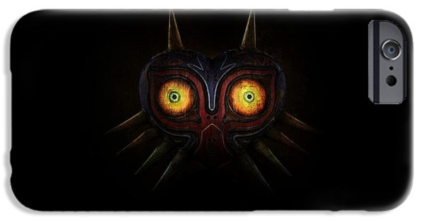 Design iPhone 6 Case - The Legend Of Zelda Majora's Mask by Maye Loeser