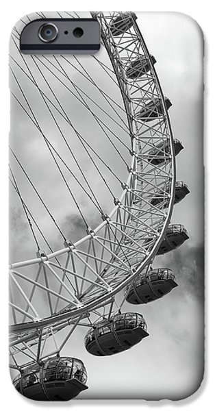The London Eye, London, England IPhone 6 Case by Richard Goodrich