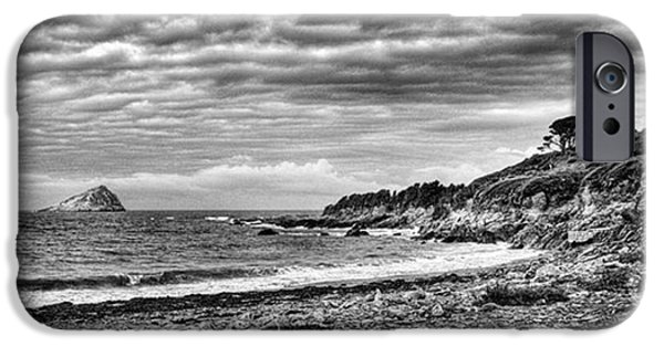 Sky iPhone 6 Case - The Mewstone, Wembury Bay, Devon #view by John Edwards