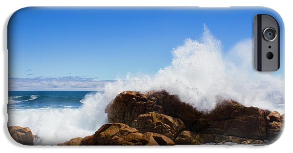 IPhone 6 Case featuring the photograph The Might Of The Ocean by Jorgo Photography - Wall Art Gallery