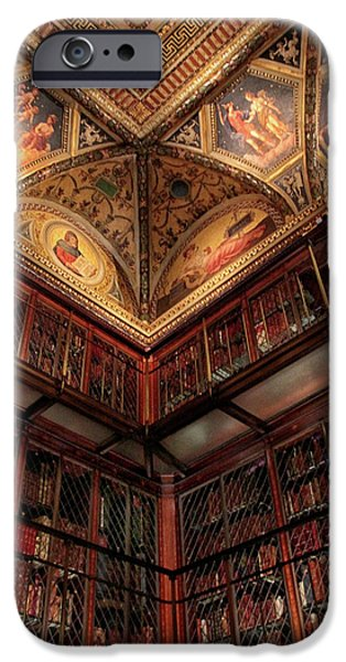 IPhone 6 Case featuring the photograph The Morgan Library Corner by Jessica Jenney