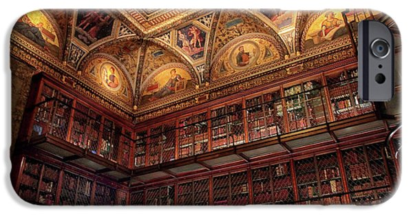 IPhone 6 Case featuring the photograph The Morgan Library by Jessica Jenney