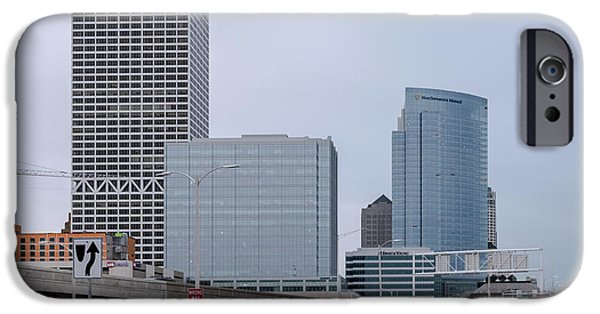 IPhone 6 Case featuring the photograph The New Milwaukee Skyline by Randy Scherkenbach