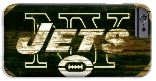 d7acbfadf Joe Namath iPhone 6 Case - The New York Jets 3b by Brian Reaves
