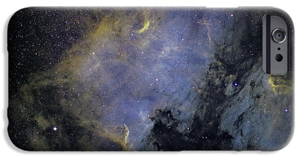 Stellar iPhone Cases - The North America Nebula iPhone Case by Phillip Jones