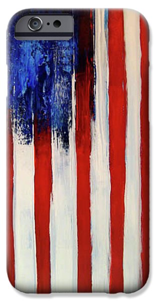 Independence Day Mixed Media iPhone Cases - The Ogden Flag iPhone Case by Charles Jos Biviano