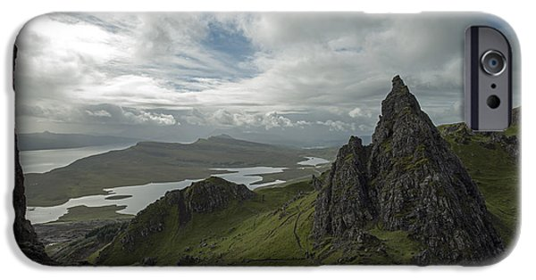 The Old Man Of Storr IPhone 6 Case by Dubi Roman