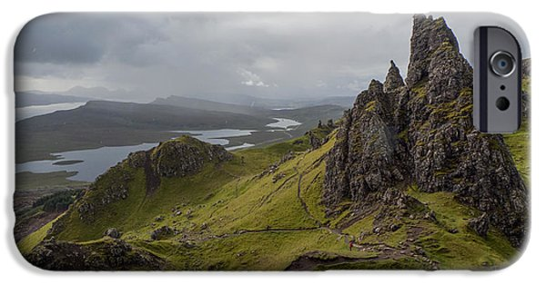 The Old Man Of Storr, Isle Of Skye, Uk IPhone 6 Case by Dubi Roman