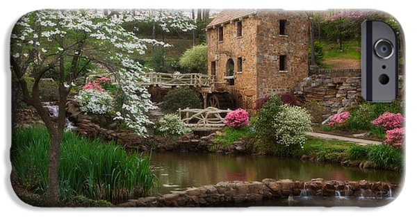 Old Mills iPhone Cases - The Old Mill iPhone Case by Jonas Wingfield