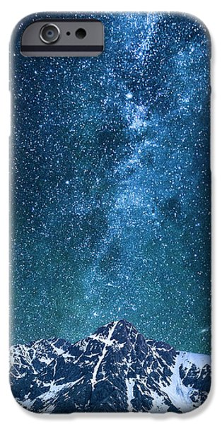 IPhone 6 Case featuring the photograph The One Who Holds The Stars by Aaron Spong