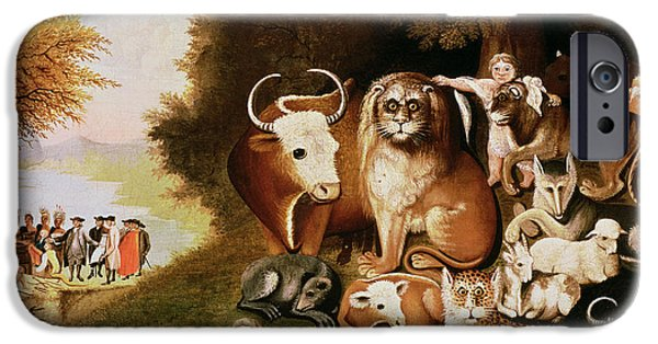 20th iPhone 6 Case - The Peaceable Kingdom by Edward Hicks