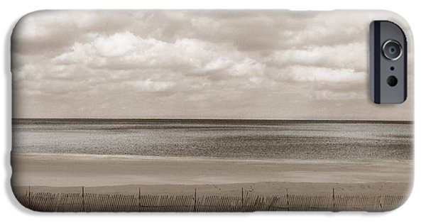 Beach Landscape iPhone Cases - The Perfect Sky Is Torn iPhone Case by Dana DiPasquale