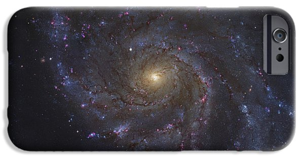 Stellar iPhone Cases - The Pinwheel Galaxy iPhone Case by Robert Gendler