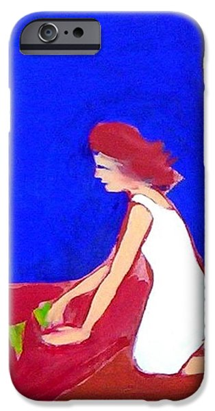 IPhone 6 Case featuring the painting The Planting by Winsome Gunning