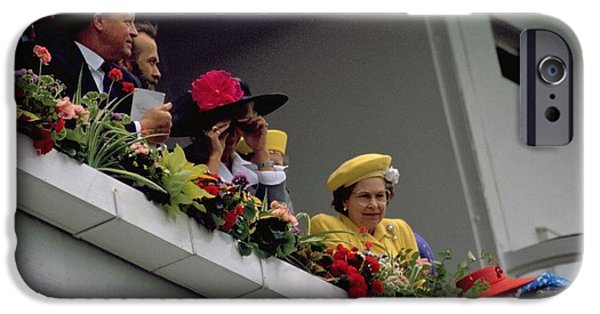 The Queen At Derby Day 1988 IPhone 6 Case