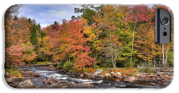 IPhone 6 Case featuring the photograph The Rapids On The Moose River by David Patterson