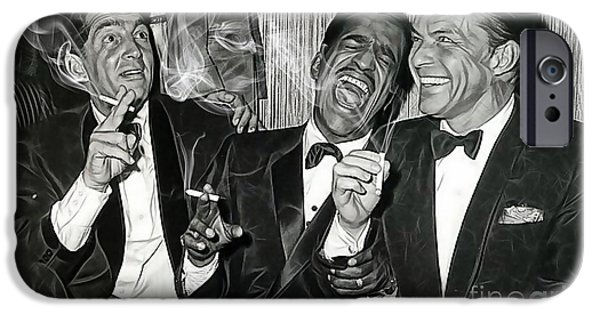 The Rat Pack Collection IPhone 6 Case by Marvin Blaine