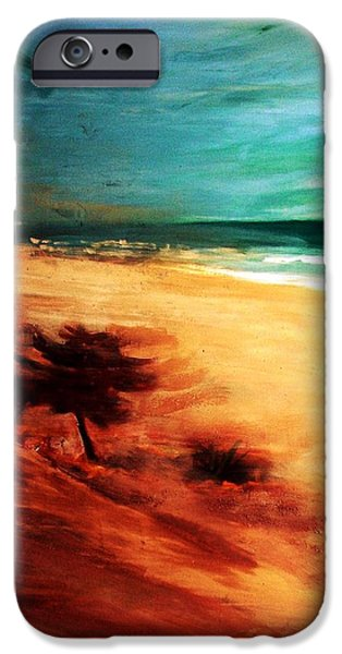 IPhone 6 Case featuring the painting The Remaining Pine by Winsome Gunning