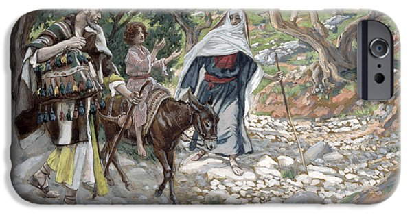 Pathway iPhone Cases - The Return from Egypt iPhone Case by Tissot
