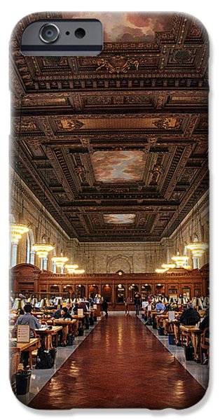 IPhone 6 Case featuring the photograph The Rose Reading Room II by Jessica Jenney