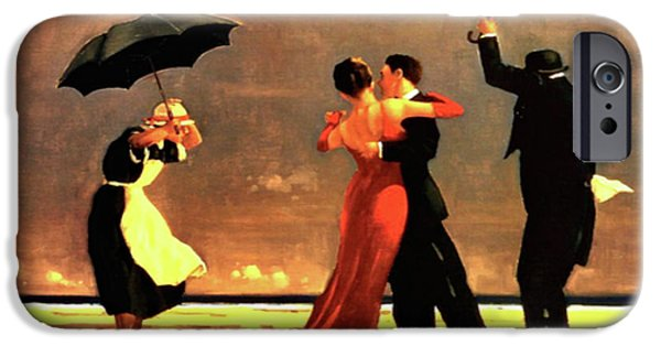 20th iPhone 6 Case - The Singing Butler by Jack Vettriano