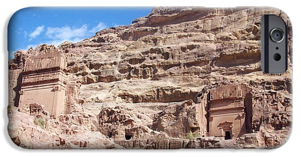 Jordan iPhone Cases - The Stone City iPhone Case by Munir Alawi