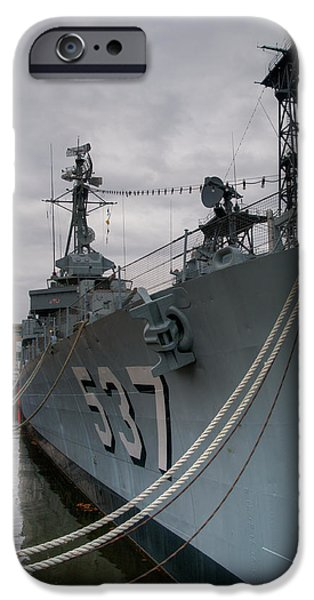 War iPhone Cases - The Sullivans 3411 iPhone Case by Guy Whiteley