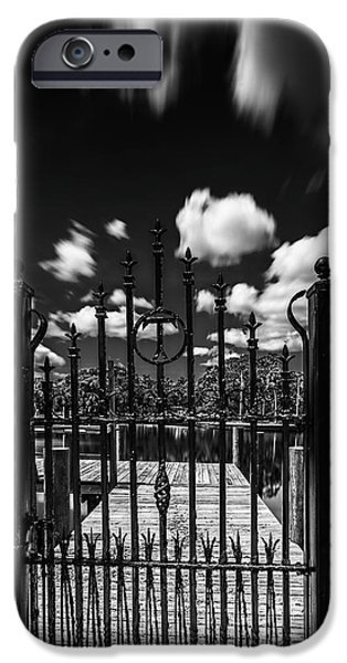Ironwork iPhone 6 Case - The Tee Gate  by Marvin Spates