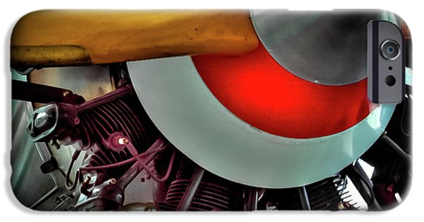 IPhone 6 Case featuring the photograph The Vintage Stearman C-3b Biplane by David Patterson