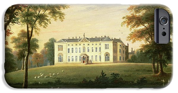 Rural Schools iPhone Cases - Thorp Perrow near Snape in Yorkshire iPhone Case by English School