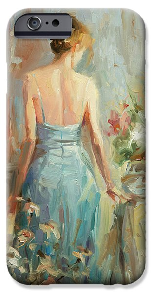 Figurative iPhone 6 Case - Thoughtful by Steve Henderson