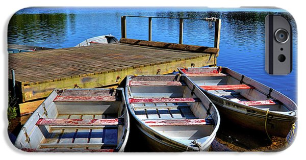 Three Rowboats IPhone 6 Case by David Patterson