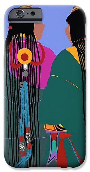 iPhone 6 Case - Tibetan Women by Synthia SAINT JAMES