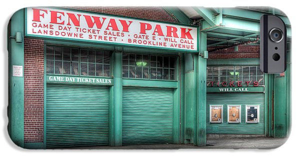 Recently Sold -  - Fenway Park iPhone Cases - Ticket Windows iPhone Case by Clarence Holmes