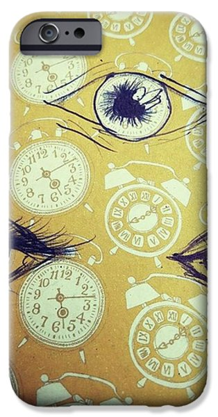 iPhone 6 Case - Time Waits For No Man, And Tomorrow Is by Eyeon Energetic