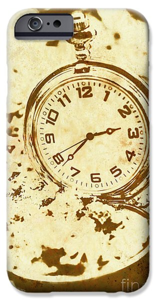Time Worn Vintage Pocket Watch IPhone 6 Case