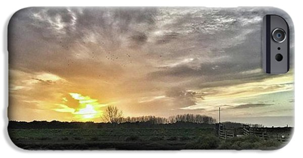 Sky iPhone 6 Case - Tonight's Sunset From Thornham by John Edwards