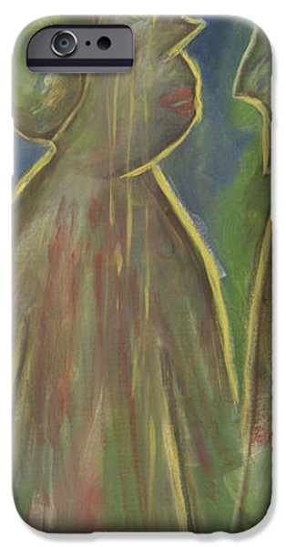Abstract Expressionist iPhone Cases - Too Many Years iPhone Case by Patricia Alexandra