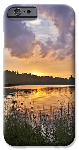 Tranquil Sunset On The Lake IPhone 6 Case by Gary Eason