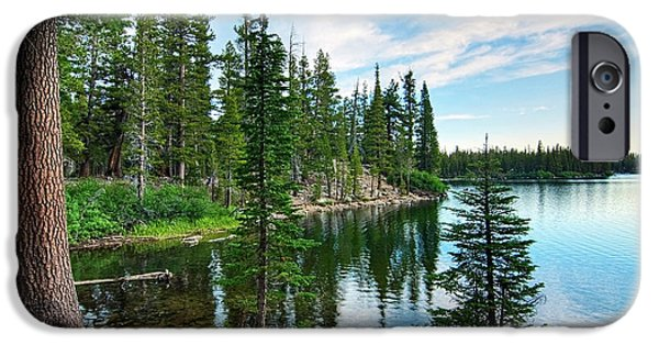 Lake iPhone 6 Case - Tranquility - Twin Lakes In Mammoth Lakes California by Jamie Pham