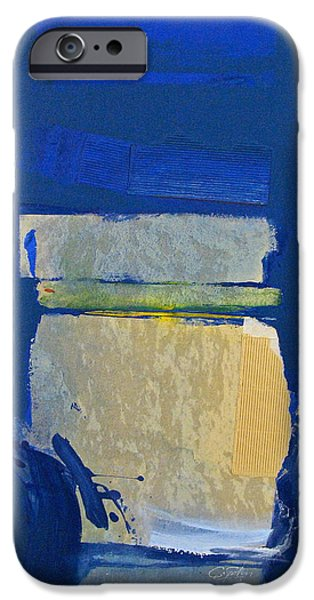 Cardboard Mixed Media iPhone Cases - Transition 5 slabs iPhone Case by Cliff Spohn