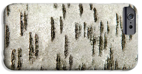 IPhone 6 Case featuring the photograph Tree Bark Abstract by Christina Rollo